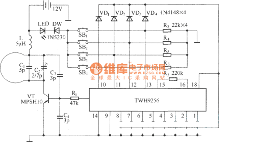 small resolution of electric single girder crane remote control circuit diagram