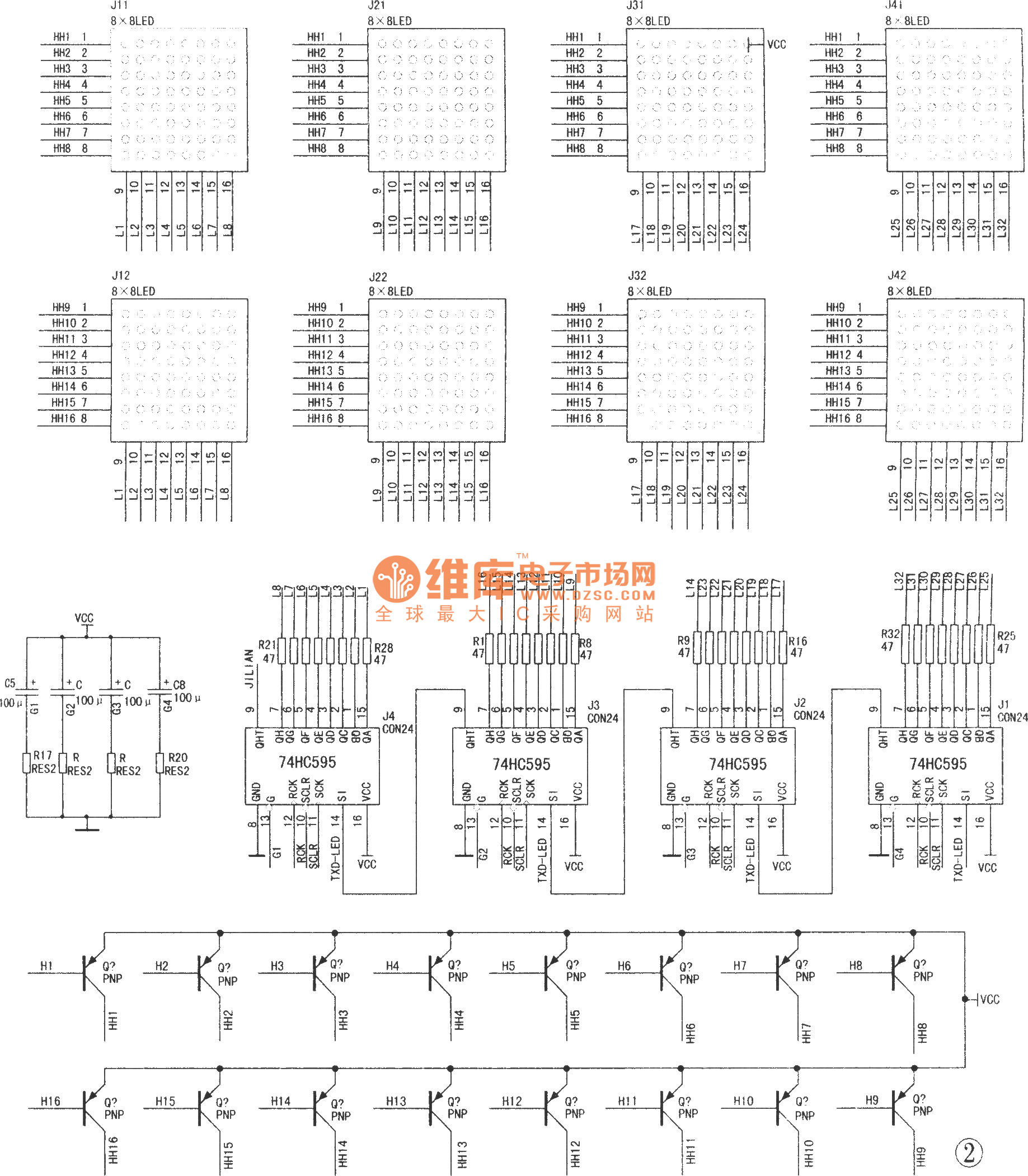 The Design Of Dot Matrix Led Electronic Display