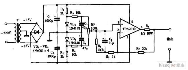 Using TDA as positive and negative voltage single-supply