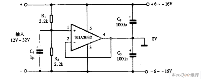 Using TDA as positive and negative regulator dual power