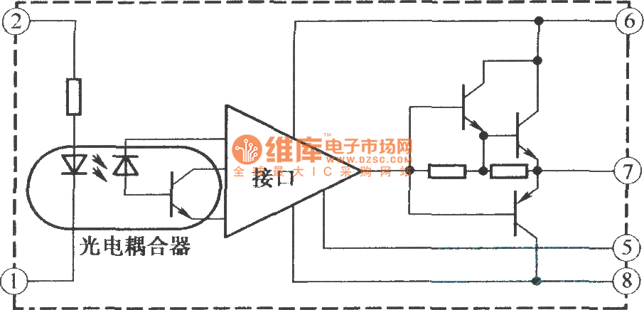 M57957L/M57958L internal structure and working principle