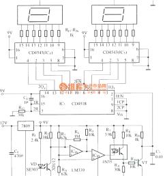 digital displaying photoelectric counter circuit diagram digital displaying photoelectric counter circuit diagram [ 1120 x 1249 Pixel ]