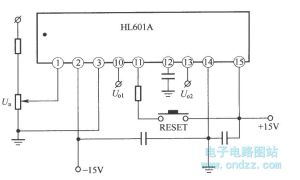 Typical application wiring diagram of HL610A  Electrical