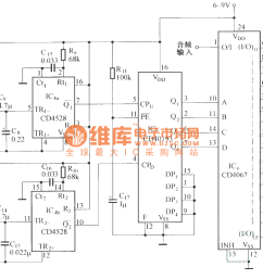 integrated circuit remotecontrolcircuit circuit diagram seekic volume remote control circuit diagram automotivecircuit circuit [ 1881 x 1053 Pixel ]
