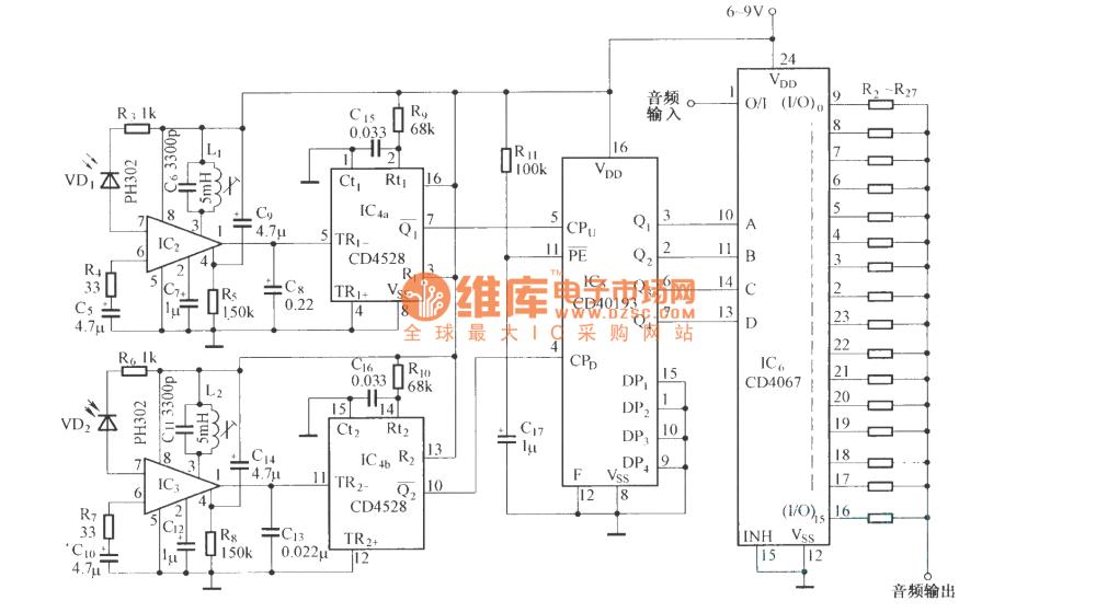 medium resolution of integrated circuit remotecontrolcircuit circuit diagram seekic volume remote control circuit diagram automotivecircuit circuit