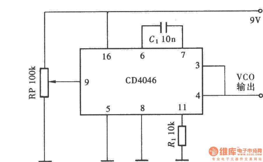 simple 555 vco circuit diagram tradeoficcom