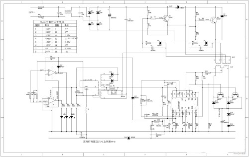 small resolution of automatic battery charger circuit of intelligent pulse electric bicycle