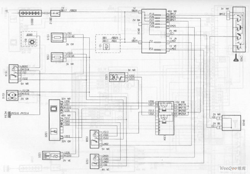 The Engine Cooling System Circuit of the DPCA-Picasso 2.0L
