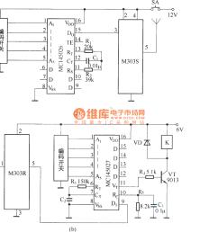 digital code remote control switch circuit diagram digital code remote control switch circuit diagram [ 1295 x 1242 Pixel ]