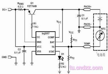 Advanced lithium battery linear charge management IC