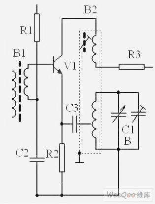 local oscillator circuit with 465KHz difference frequency