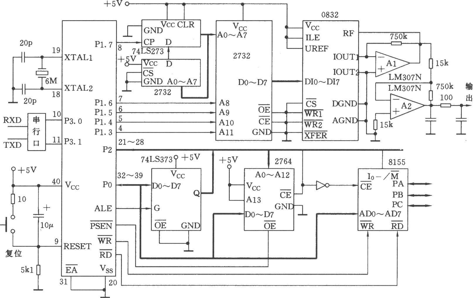 Programmable Signal Generator Composed Of Scm