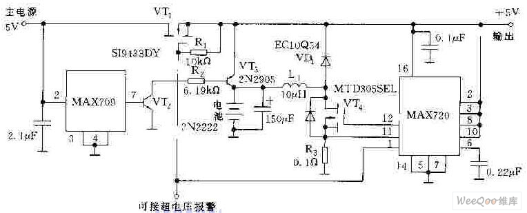 5v 1a power supply circuit diagram
