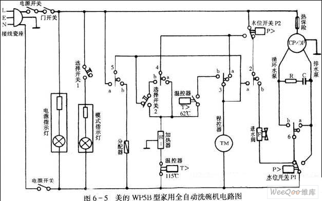 dishwasher circuit diagram 01 electricalequipmentcircuit circuit