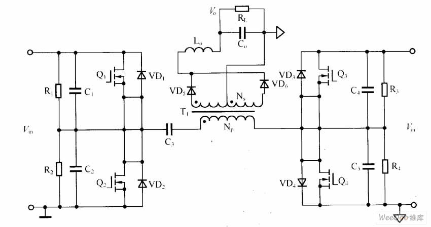 no ic dc to dc converter
