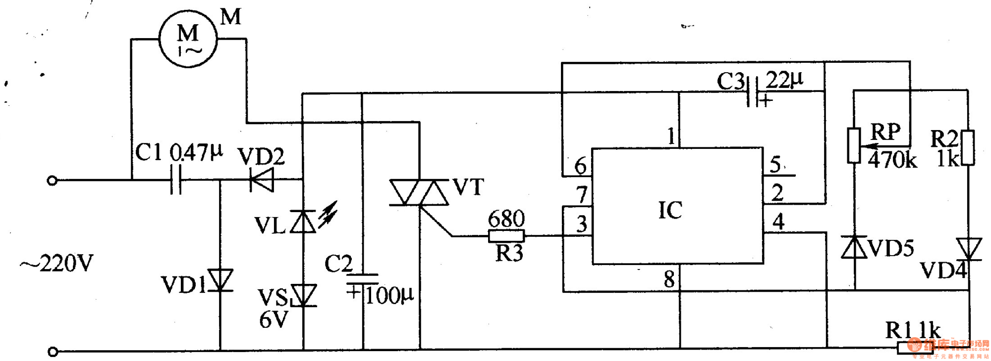 hight resolution of fan speed controller diagram 1