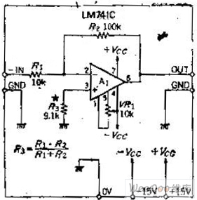 The AC inverting amplifier circuit that maintain bias by
