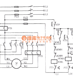 three phase motor dual speed 2y connection speed control circuit c  [ 1149 x 833 Pixel ]
