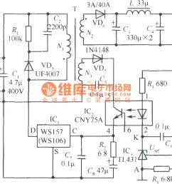 5v 1 6a precision switching power supply circuit current limiting circuits http wwwseekiccom circuitdiagram power [ 1317 x 780 Pixel ]
