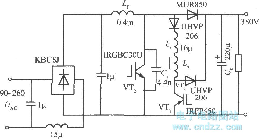Power Factor Circuit Diagram