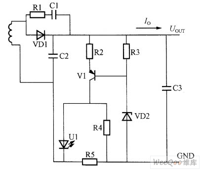 control of constant voltage and constant current circuit