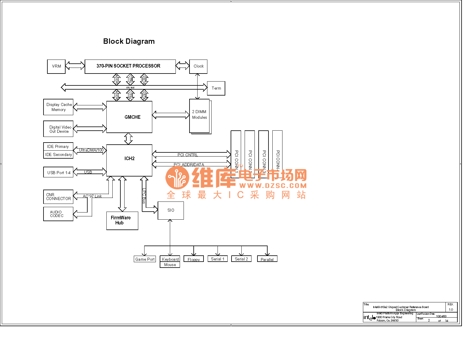 The computer motherboard circuit diagram 810 3_03