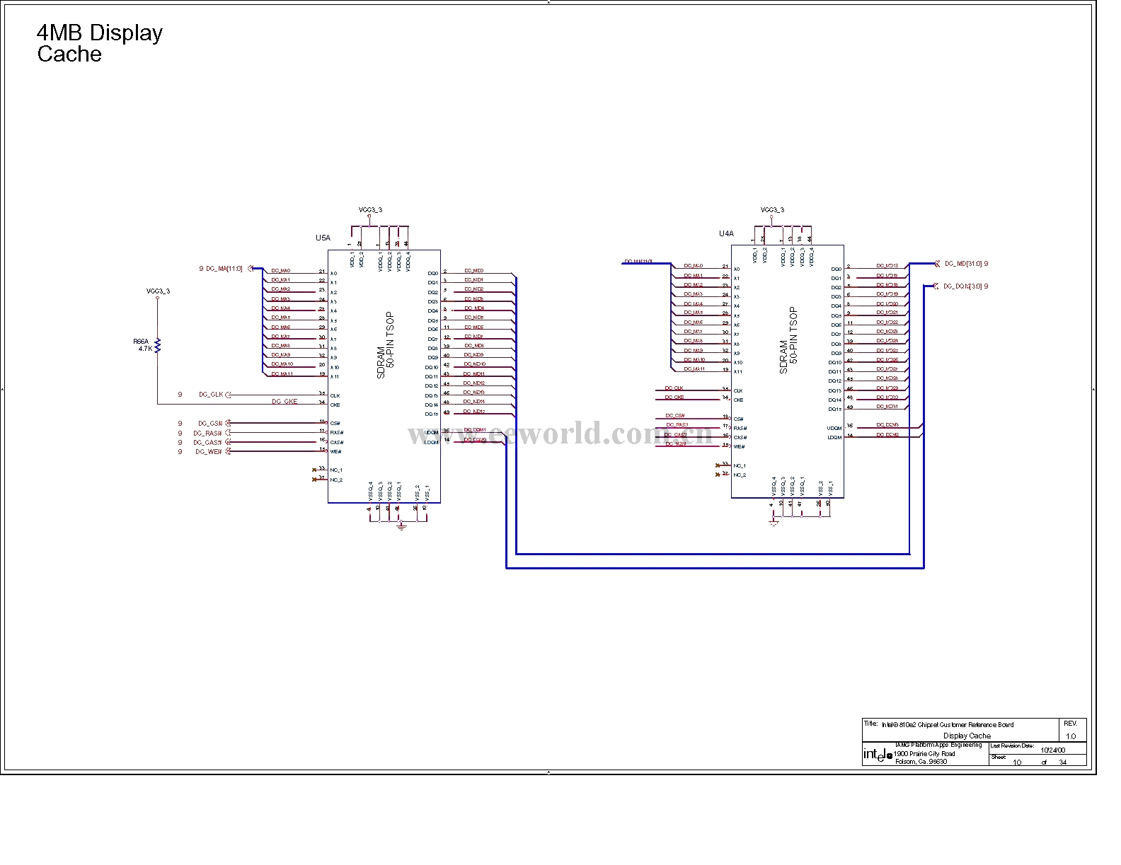 The Computer Motherboard Circuit Diagram 810 3 11