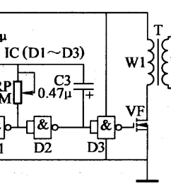 electric fence circuit electric fence charger circuit electric fence circuit diagram electric fence energizer circuit diagram [ 1365 x 614 Pixel ]