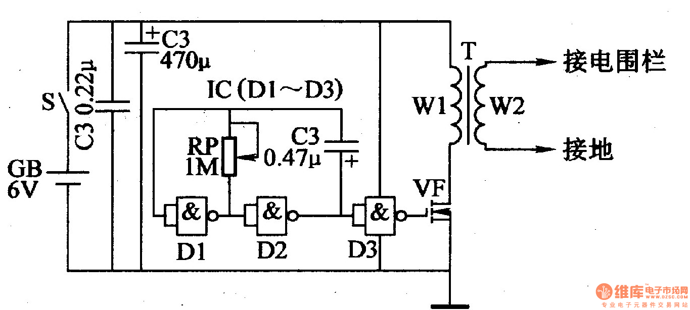 hight resolution of electric fence circuit electric fence charger circuit electric fence circuit diagram electric fence energizer circuit diagram