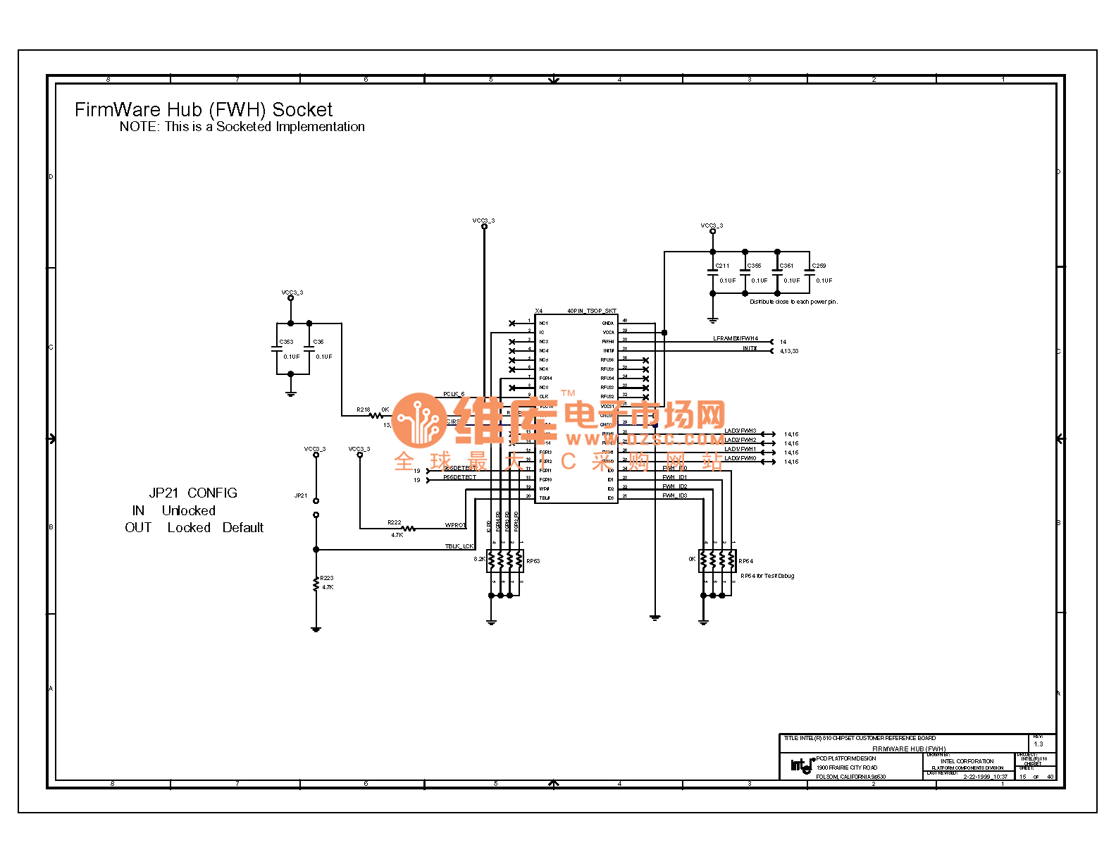 Computer Motherboard Circuit Diagram 810 1 15