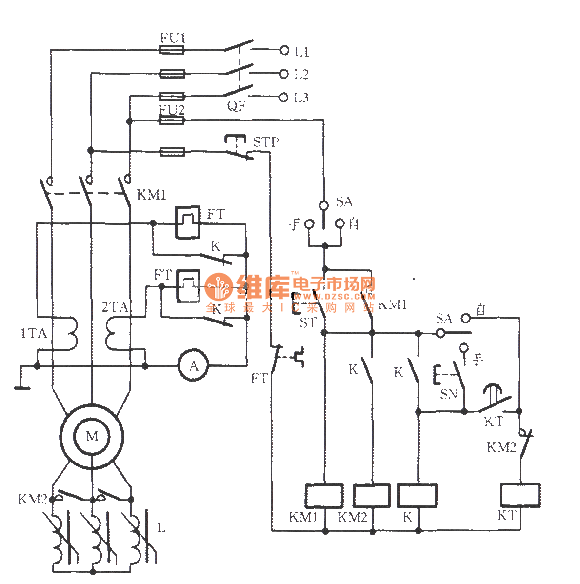 Wound Induction Motor Wiring Diagram