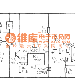 the light sensitive high power fire alarm circuit lm1801  [ 2317 x 773 Pixel ]