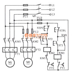 Reading One Line Electrical Diagram Chinese 110cc Atv Wiring Two Electric Motors After Start-up Circuit - Relay_control Control_circuit ...