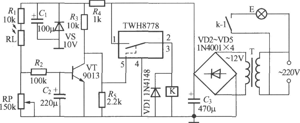 CIRCUIT DIAGRAM FOR LED STREET LIGHT