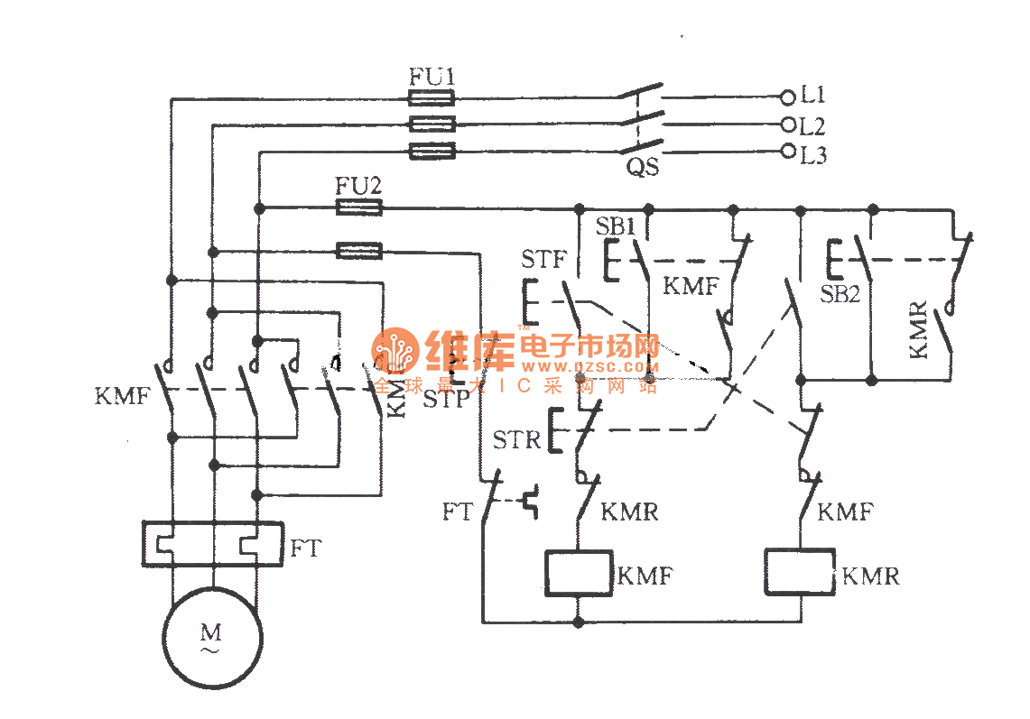 3 phase motor control panel wiring diagram fiat spider three reversing switch get free