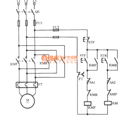 Wiring Diagram Of Motor Control Cpu Components Forward Reverse Operation