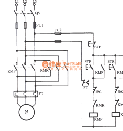 three phase motor using limit switch for automatically stopping fan limit switch wiring diagram limit switch [ 1142 x 1054 Pixel ]