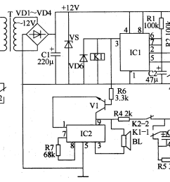 electric fan anti injured controller control circuit circuit schematic diagram of standard electric fan schematic diagram of [ 2035 x 1279 Pixel ]