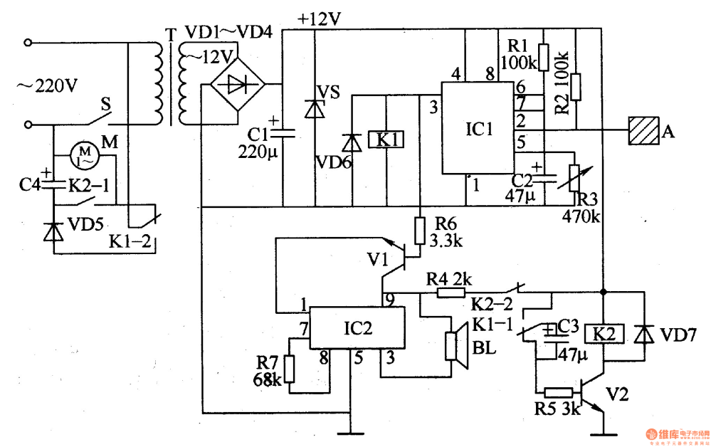 medium resolution of electric fan anti injured controller control circuit circuit schematic diagram of standard electric fan schematic diagram of