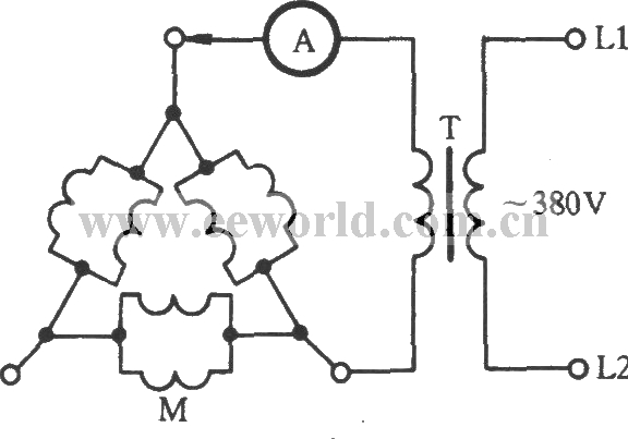 3 phase electric motor winding connection