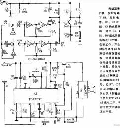 wireless two tone electronic doorbell circuit diagram [ 980 x 923 Pixel ]