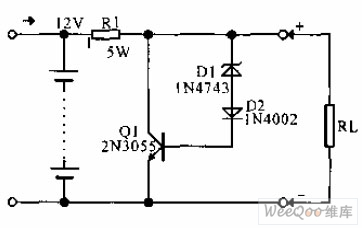 Lead-acid cell over-charging protector circuit diagram