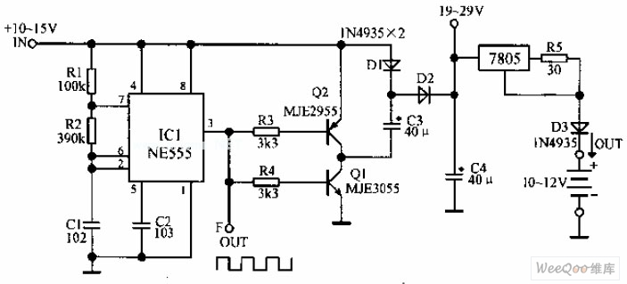 Vehicle nickel-cadmium battery charger circuit diagram
