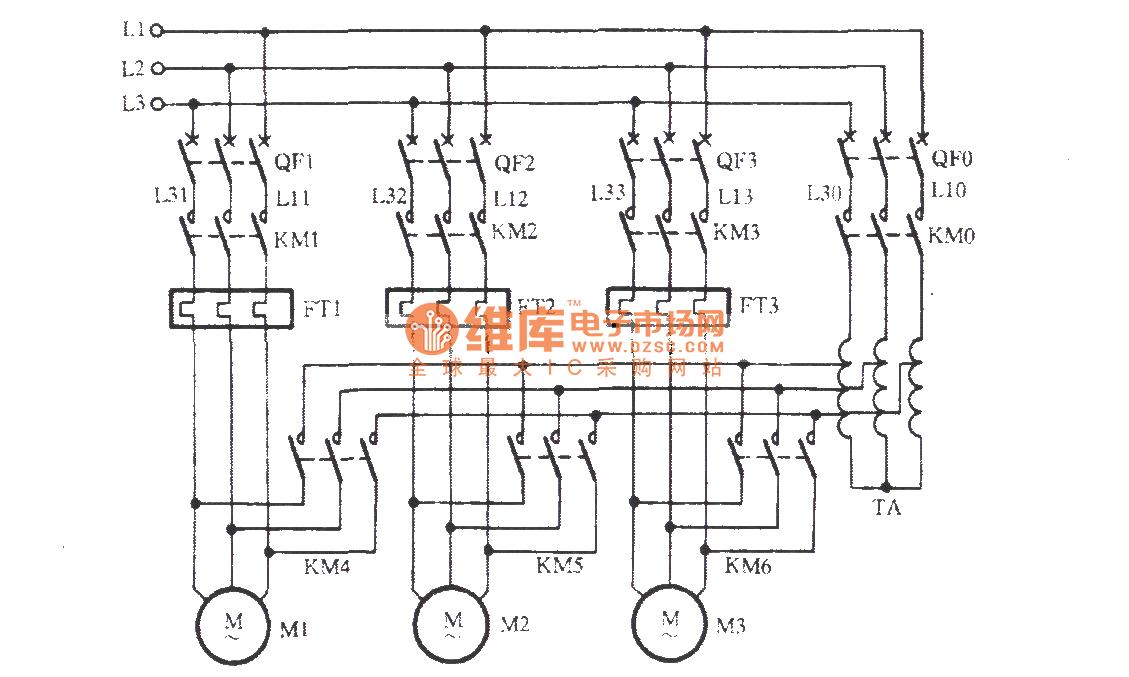 auto transformer wiring diagram 2007 chevy lifted circuit controlcircuit seekiccom three motors starting using autotransformer basic