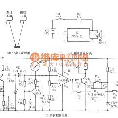 Liquid Level Controller Circuit Diagram Electrical Wire Diagrams House Wiring Ultrasonic Remote Control And Indicator
