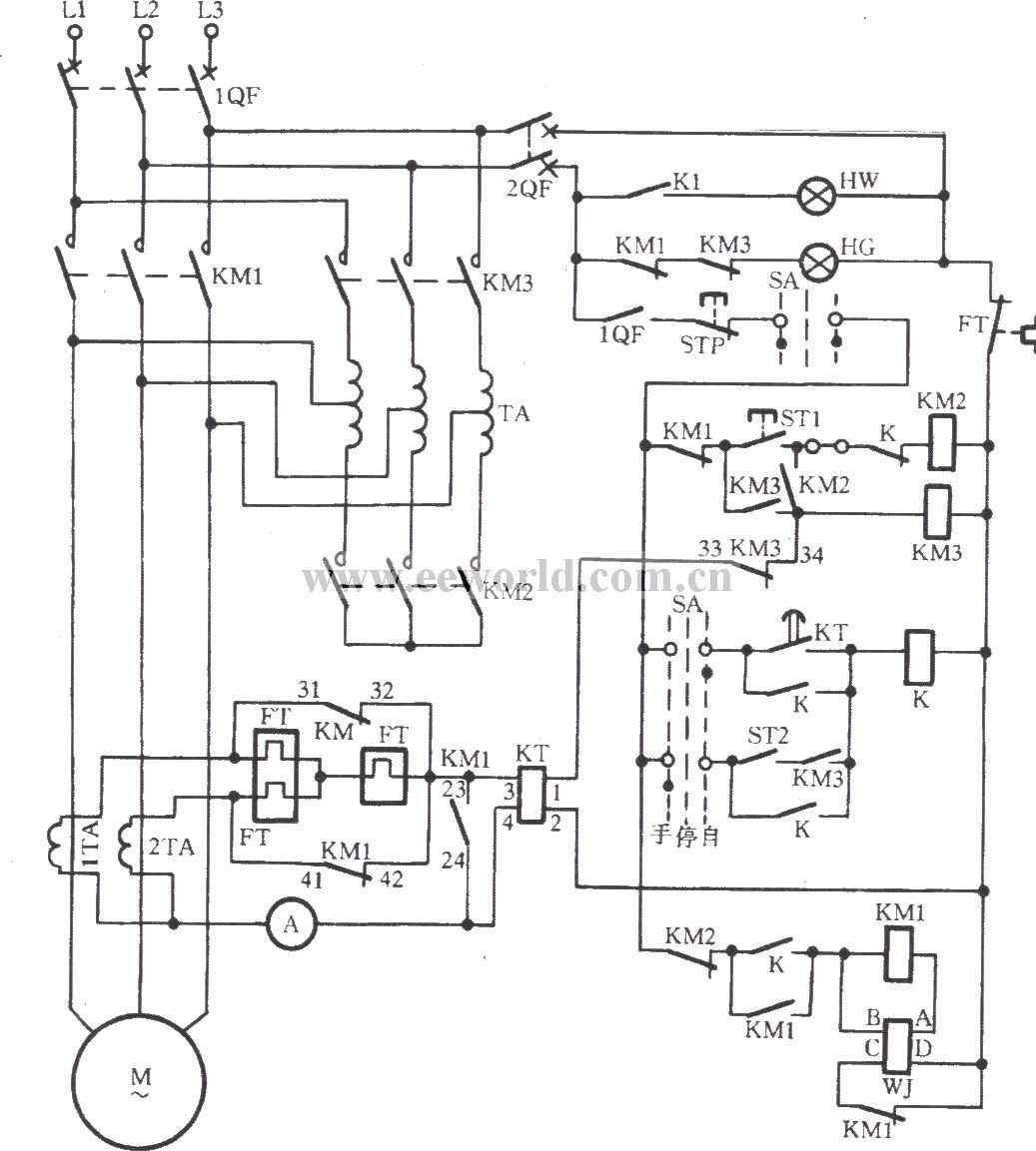Jk1 125 Auto Buck Starter Circuit