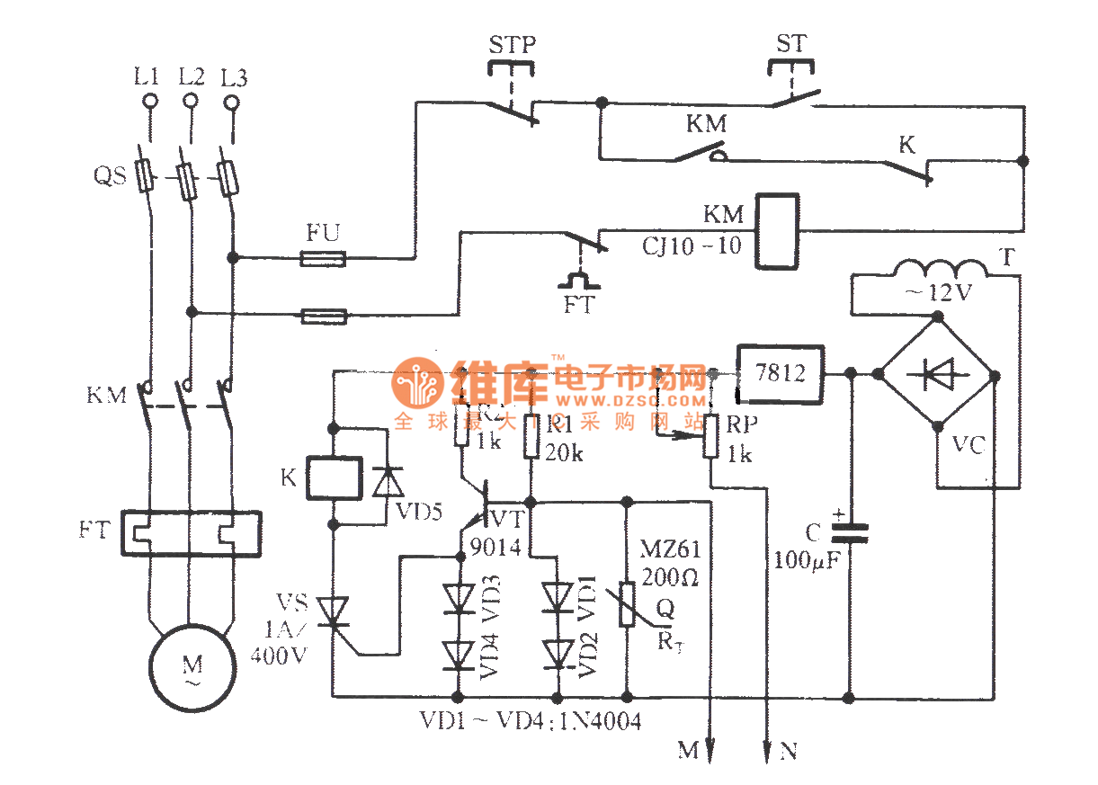 Circuit Diagram Of Thermistor