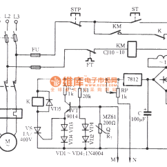 Motor Winding Thermistor Wiring Diagram Dimarzio Telecaster The Overheating And Influent Protection Circuit