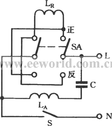 Capacitor start single-phase motor non- frequent