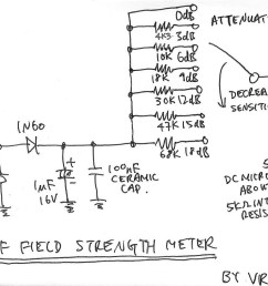 rf field strength meter with attenuator up to 200 mhz [ 1600 x 1049 Pixel ]